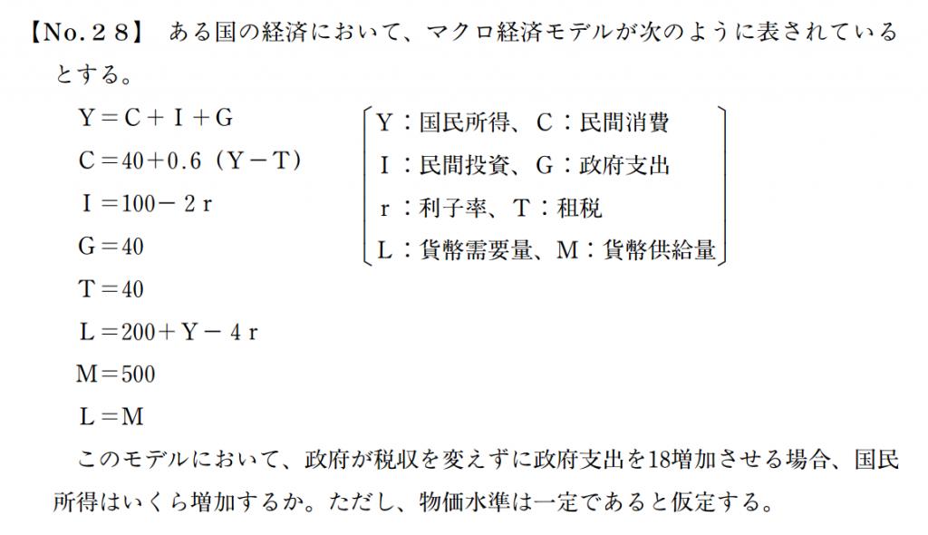 経済学(計算)